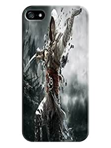 Colorful texture tpu phone cover/case/shell for iphone 5/5s of Assassin's Creed in Fashion E-Mall by lolosakes
