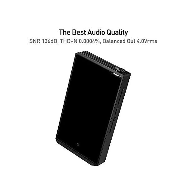 High Resolution Audio Player/aptX JetEffect Bluetooth/Dual DAC, DSD256, SNR 136dB / AI Audio 5
