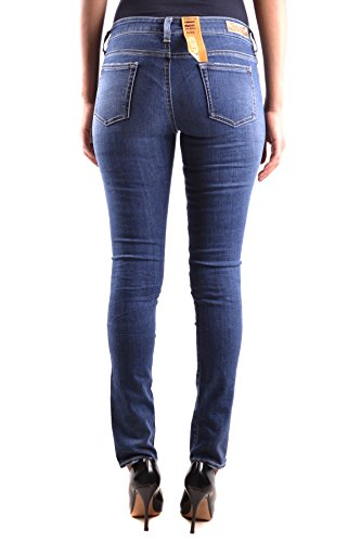 Meltin'pot Damen MCBI340078O Blau Baumwolle Jeans