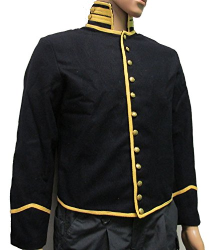 - Military Uniform Supply Civil War U.S. Mounted Service Shell Coat (50 REG, YELLOW TRIM (CAV))