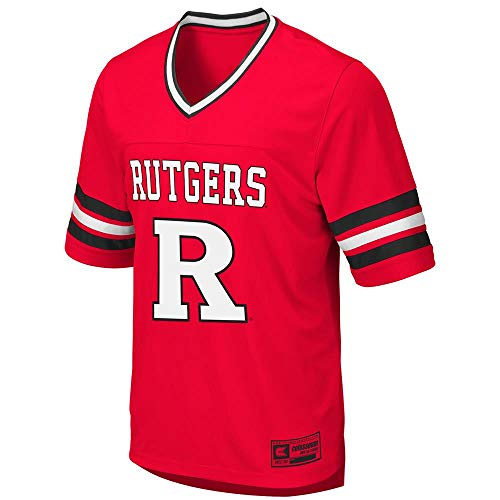 Colosseum Mens Rutgers Scarlet Knights Football Jersey - M ()