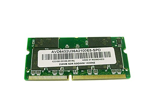 AVD6432U36A2100E5 - NEW Dell 256mb PC100 100Mhz Sodimm Laptop Memory for Inspiron Latitude - 16 chip
