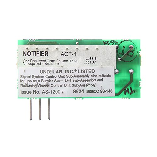 Notifier ACT-1 Audio Coupling Transformer Module Accessory