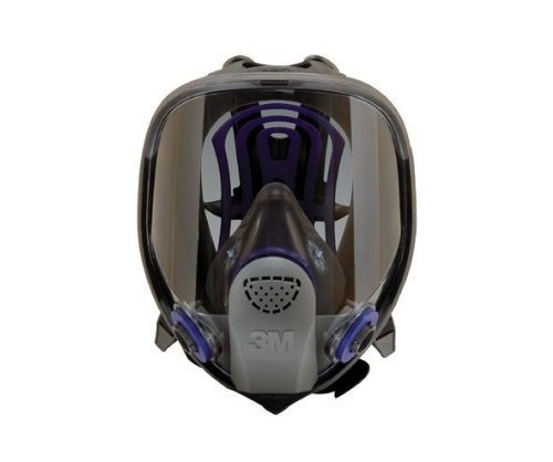 3M FF-402 Medium Ultimate FX Full Face Reusable Respirator with Scotchgard Lens Coating and Bayonet Connection, Plastic, 9.9'' x 5.6'' x 8.1'' by 3M