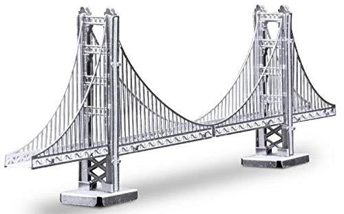 Fascinations Metal Earth San Francisco Golden Gate Bridge 3D Metal Model Kit