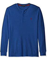 Men's Long Sleeve Thermal Henley