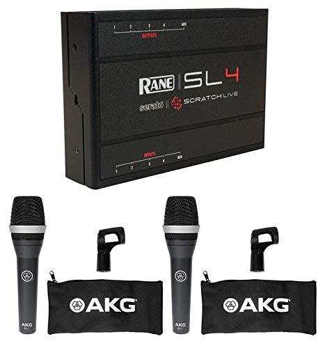 RANE SL 4 DJ Midi Controller Serato Scratch Live Interface SL4+2 AKG - Sl4 Interface