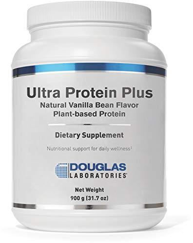 Douglas Laboratories - Ultra Protein Plus - Natural Vanilla Bean Flavor - Plant-Based Protein Supplement - 900 Grams (31.7 - Plus Bean