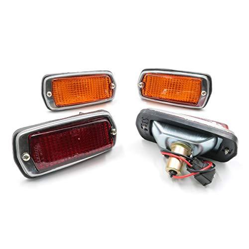 Side Marker Lamp LH/RH 2 Sets New Fit For 1968-1978 Nissan Datsun Fairlady Truck 510 240Z 260Z 280Z S30 120Y B210