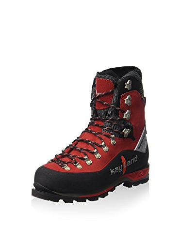 Kayland Shoes Men Moutaineeering Super ICE EVO GTX Black-Red Nero/Rosso
