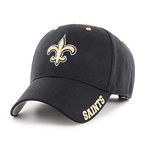 NFL New Orleans Saints Blight OTS All-Star Adjustable Hat, Black, One Size -