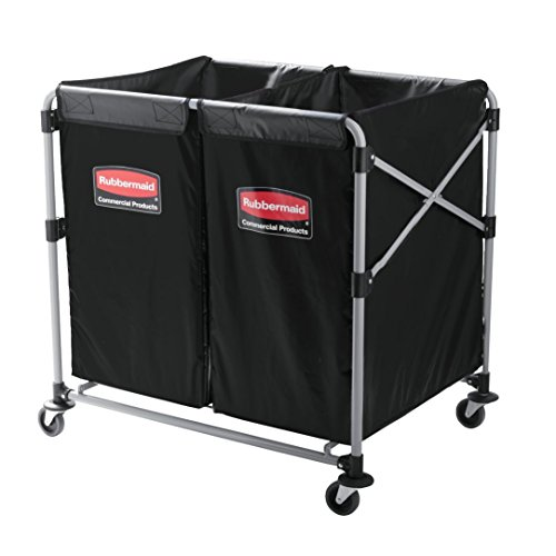 Rubbermaid Commercial Executive Series Collapsible X-Cart, 2 to 4 Bushel, 1881781 by Rubbermaid Commercial Products