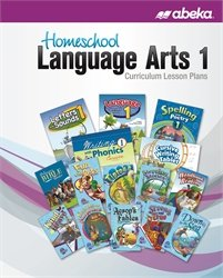 Homeschool Language Arts 1 Curriculum Lesson Plans for sale  Delivered anywhere in USA