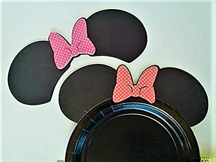 Right Source Products Mickey Mouse Birthday Party Minnie Ears DIY Table Decoration