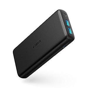 Anker PowerCore Lite 20000mAh Portable Charger, Ultra-High Capacity 4.8A Output Power Bank, External Battery
