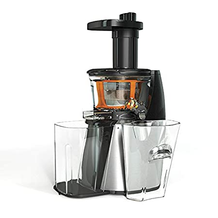 HB SJ0152S Licuadora de extraccion lenta 140 W, 1 Liter, Acero ...