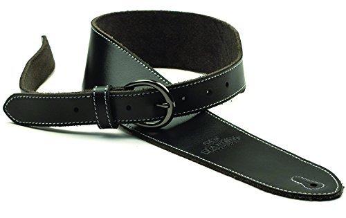 一流の品質 San Leandro Strap Leather LB-121 Deluxe Leather Guitar Guitar Strap Strap Black [並行輸入品] B078HR23KM, 【在庫処分大特価!!】:92d1bb9c --- irlandskayaliteratura.org