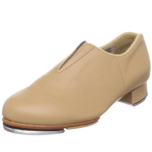 Bloch Girl's Tap-Flex Slip On Tap Shoe , Tan, 13.5 X US