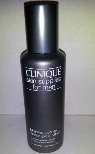 M Shave Aloe Gel - Clinique Skin Supplies for Men 'M' Shave Aloe Gel Travel Size 1.5 oz.