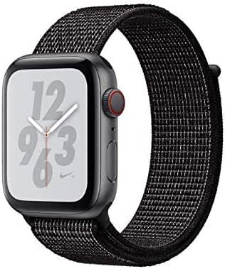 Black Nylon woven sports watch strap For Smart Watch