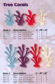 ESU Tropical Treasure Sm Tree Coral White Replica
