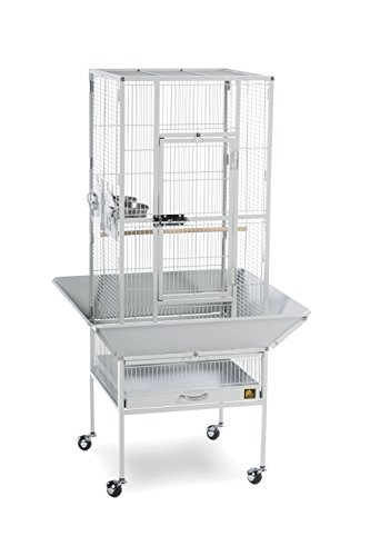Prevue Pet Products 3351W Park Plaza Bird Cage, Pewter by Prevue Pet Products