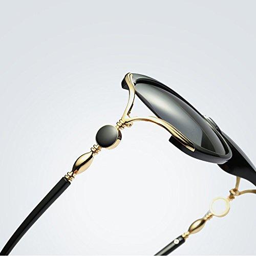 Cristal para Gafas Gran Alta Sol de 3 Yao de UV400 tamaño Gafas de para Marco polarizada Sol Adultos de Calidad de Mujeres wg4wFqpx7