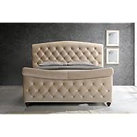 Meridian Furniture Diamond Sleigh Bed, Queen