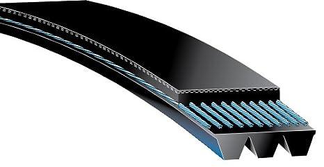 "6 Ribbed Poly V Belt 49/"" Inch Micro Rib Groove Flat Belt Metric 490J6 490 J 6"