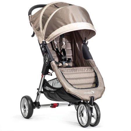 City Mini Single Stroller, Sand/Gray by Baby Jogger