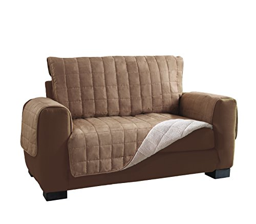 Serta Sofa Slipcovers Reversible Sherpa Suede Furniture