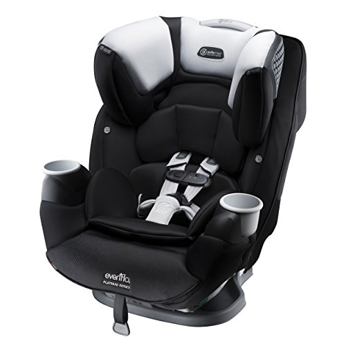 Evenflo SafeMax Platinum All-in-One Convertible Car Seat, Shiloh