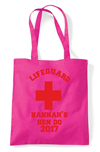 Emerald Lifeguard Customised Hen Shopper Personalised Party Bag Do Tote Design AEqznRO7q