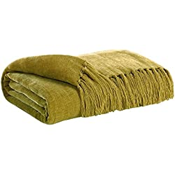 Ashley Furniture Signature Design - Reverse Collection Throw - 40x60 in Imported Blanket - Bronze