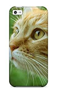 Hot Ginger Cat First Grade Tpu Phone Case For Iphone 5c Case Cover