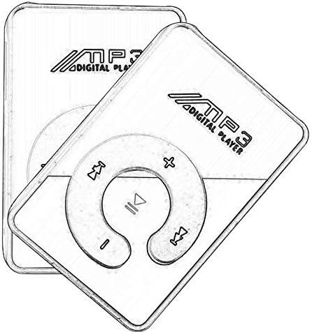 ghfcffdghrdshdfh Lettore MP3 portatile Mini Clip USB Supporto supporto musicale Micro SD TF Card Hifi