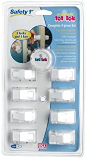 Amazon.com : Safety 1st Magnetic Tot Lok Complete Set : Cabinet ...