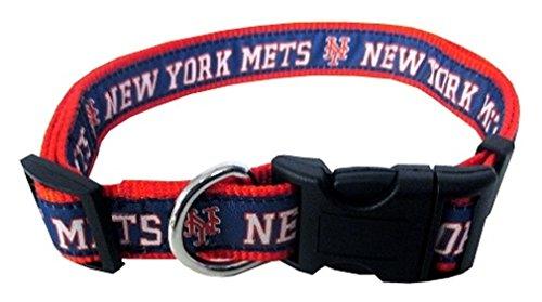 MLB NEW YORK METS Dog Collar, Medium