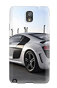 Protective Tpu Case With Fashion Design For Galaxy Note 3 (audi R8 Gt 35)