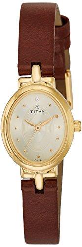 Titan Karishma Revive Analog Champagne Dial Women's Watch-NM2594YL01 / NL2594YL01