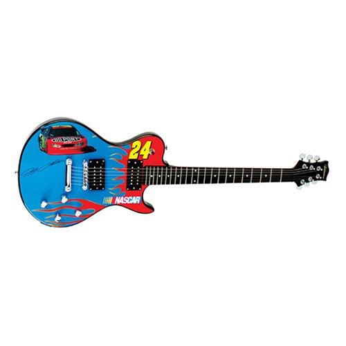 Silvertone Jeff Gordon NASCAR Signature Series Electric Guitar -  Samick Music Corp., SNE JG