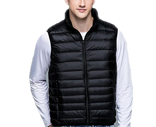Homme Doudoune Ultra Weatherproof Manteau Blousons Collar Ake Black Down Stand light Veste 1q4zAd