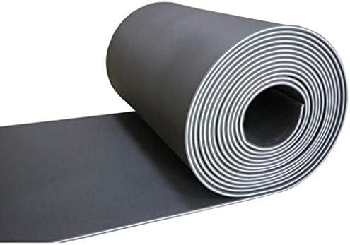 グランドショックパッド、(5平方メートル)多機能黒い壁高密度ダンススタジオドラムルームアコースティックパネル (Color : 5 square meters)
