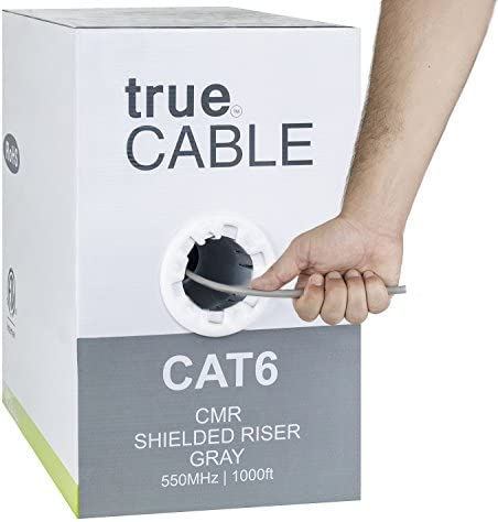 Shielded 1000ft Overall Ethernet trueCABLE product image