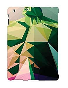 Hot New Polygon Hulk Case Cover For Ipad 2/3/4 With Perfect Design