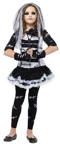 Monster Bride Child Costume -