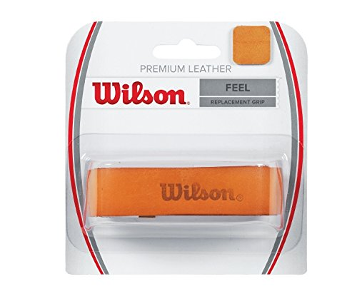 WILSON Premium Leather Replacement Grip (Pack of 1)