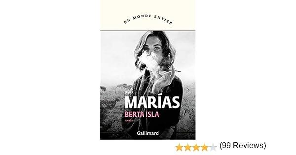 Berta Isla (Du monde entier) (French Edition) eBook: Marías ...