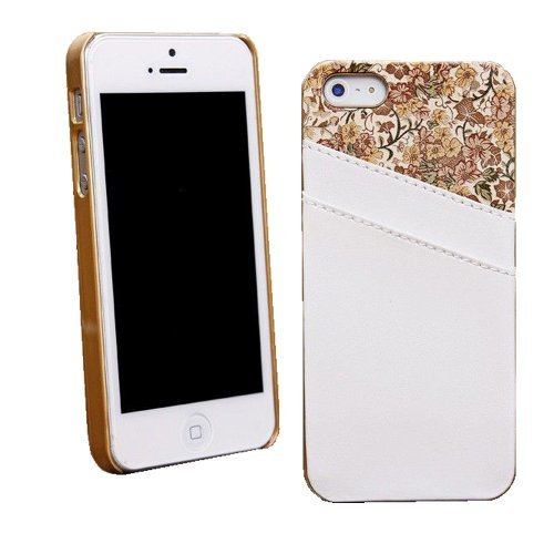 Smart Tech Commuter Series Case for Iphone 5/5s - Frustration-free Packagin (Iphone 5/5s case-white)