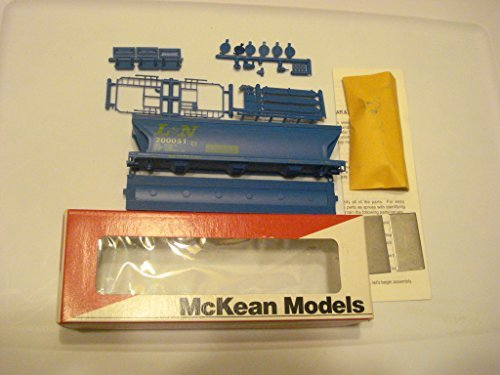 L&N 3-Bay ACF Covered Hopper Car HO Scale Train Car Kit #200051 Stock (Acf 3 Bay Covered Hopper)